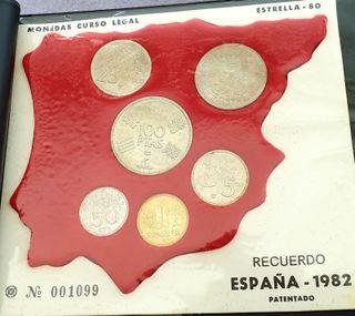 Album monedas Mundial Futbol 1982