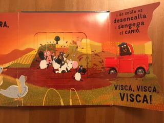Libro cuento infantil oso