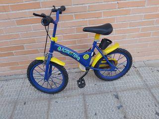 bicicleta infantil Romester