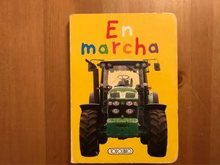 Libro cuento infantil transportes