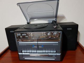 radio CD mp3 cassette tocadiscos Auna