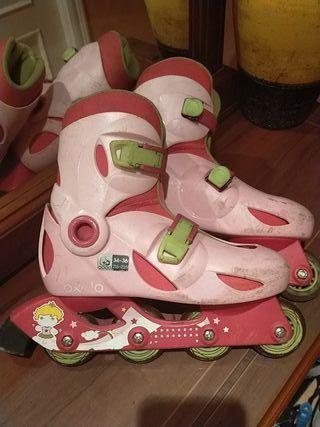 patines de linea (niña)