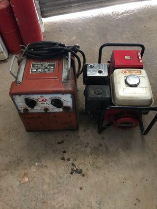 Generador Soldador Honda EG 1500 330v y 220V
