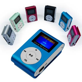 Mini reproductor MP3 Azul