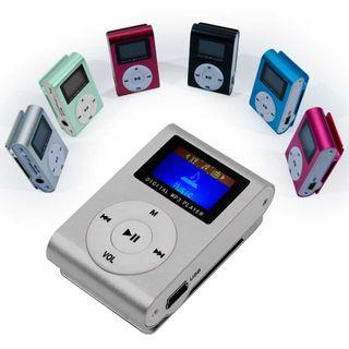 Mini reproductor MP3 Gris