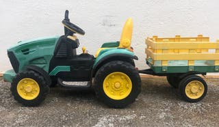 Tractor electrico para niño.