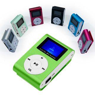 Mini reproductor MP3 Verde