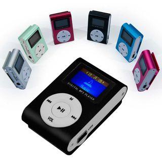 Mini reproductor MP3 Negro