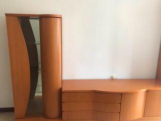 Mueble comedor, dos módulos + recibidor