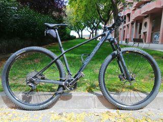 Btt bicicleta montaña Canyon Carbono