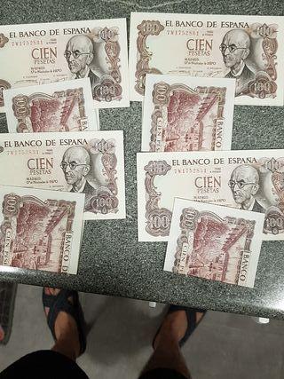 40 billetes