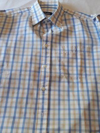 Camisa caballero manga corta