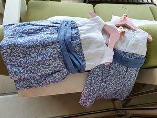 Vestidos (2) para gemelas 18meses para evento(boda