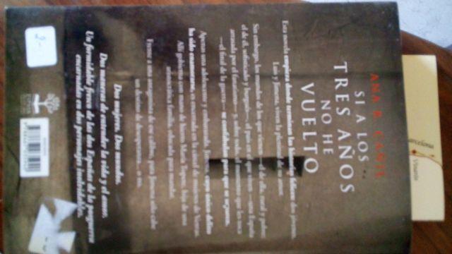 Libro Cómo Nuevo Si A Los Tres Años No He Vuelto De Segunda Mano Por 5 95 En Valencia En Wallapop