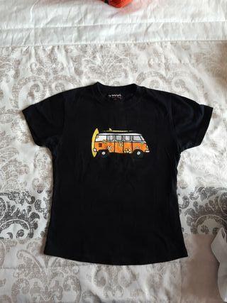 camiseta chica cállate la boca furgoneta