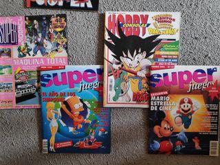 Revitas Superjuegos y Hobby consolas