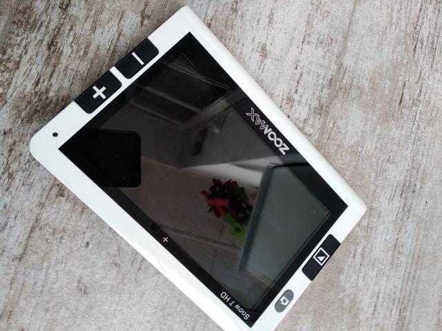 Lupa electrónica Zoomax snow HD