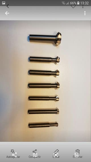 herramientas especiales fresadora