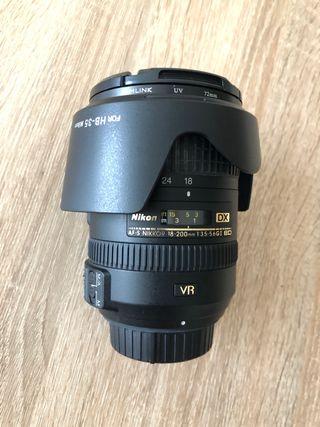Nikkor 18-200 VR II
