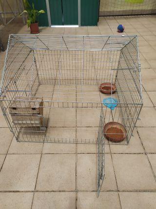 jaula grande conejos / gallinas