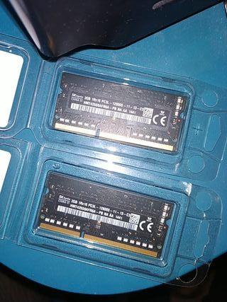 4GB de Memoria RAM DDR3