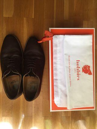 Zapatos cuero Bobbies (Talla 44)