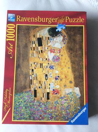 Puzzle 1000 piezas , el Beso de G.Klimt