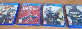 Juegos de PS4