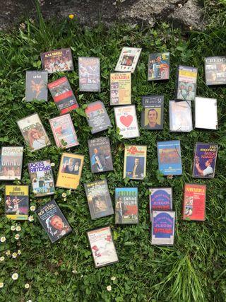 31 casettes con walkman philips