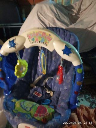 hamaca bebé y asiento bañera