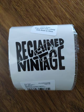 Pendientes rectangulares Reclaimed Vintage