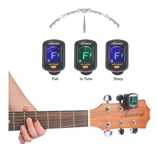 Afinador de Guitarra Guitar Tuner Sintonizador de