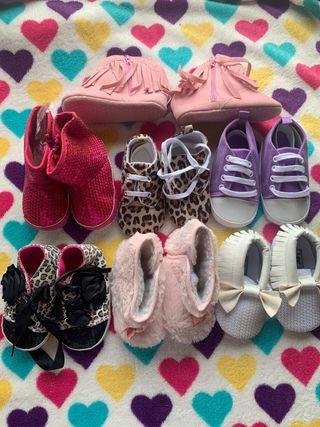 Zapatos para bebe niña