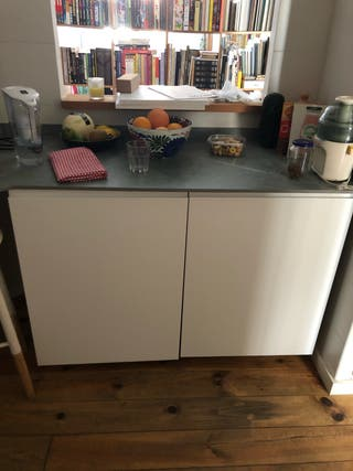 Frigorífico Ikea Kallnat + Congelador Genomfrysa