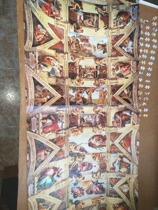 Puzzle Capilla Sixtina 18.000 piezas