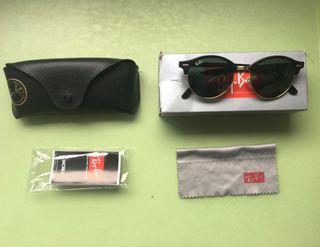 Gafas de sol Ray Ban Clubmaster Redonda Negra