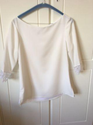 Falda y blusa boda