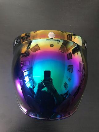 Visera pantalla burbuja