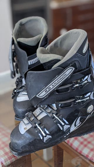 Botas ski esquiar Salomón talla 44-45