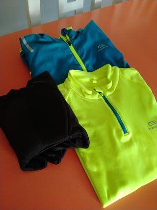lote ropa ciclismo niño T12 Decathlon