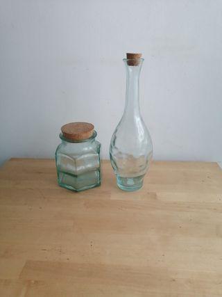 objetos decoración cristal