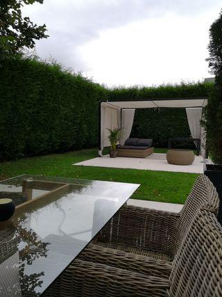 tumbona doble jardin