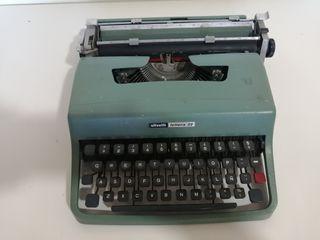 maquina de escribir olivetti lettra32