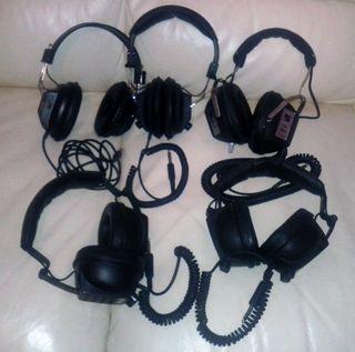 Lote auriculares vintage...
