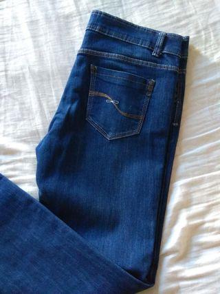 pantalón vaquero de mujer solo una puesta t.42