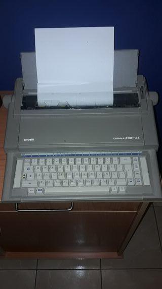 Olivetti maquina de escribir eléctrica