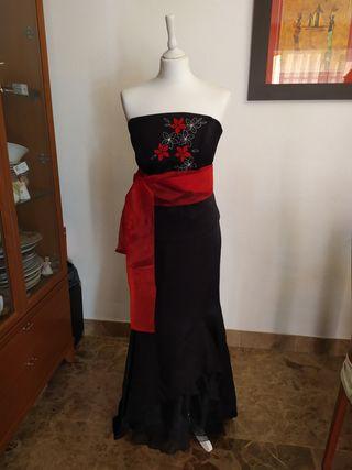 Vestido de fiesta . 2 piezas