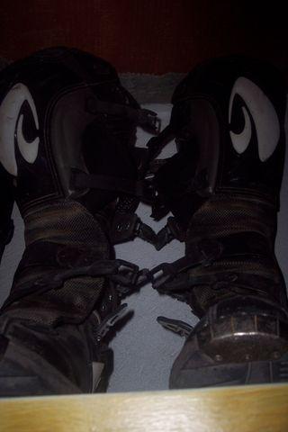 botas enduro cross del número 45