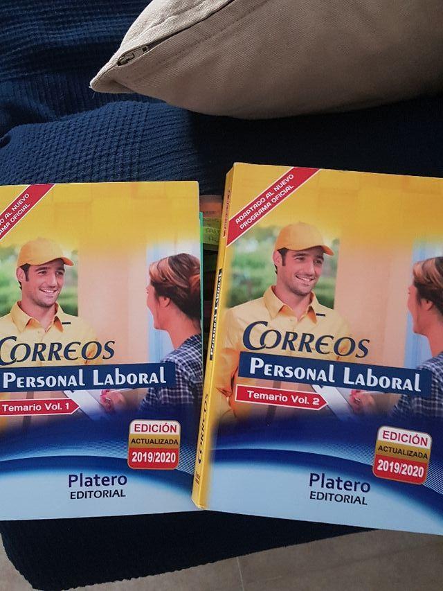 Temario oposiciones de CORREOS