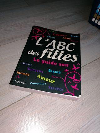 Livre L'ABC des filles edition 2011